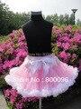 Venta al por mayor 2015 faldas de las muchachas rosa Denim arco faldas de las faldas de los niños Fantasia PETS-033