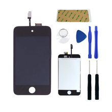 Получить скидку Full Screen Replacement for iPod Touch 4 4th  LCD Screen The Whole Display Assembly With Free Tools Kit and frame adhesive