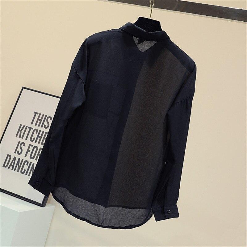 Blouse Shirts Femmes Patchwork Nouveau Printemps 2019 Pour TqatZInw
