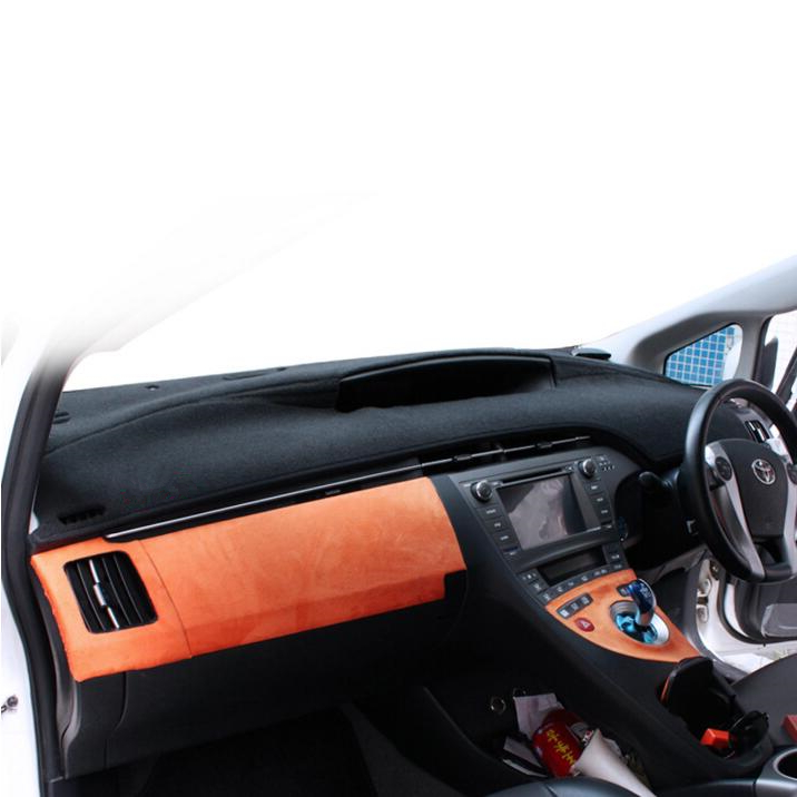 Car dashboard covers dashmat platform pad car accessories sticker for toyota prius 2012  ...