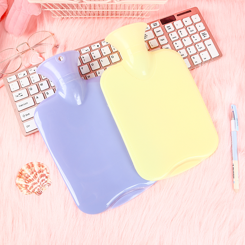 050 Hot Water Bottle PVC Hot Water Bag Hand Warming Water Bottles Winter Hot Water Bags Bottle 25 8cm in Hot Water Bottles from Home Appliances