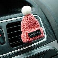 Автомобильный Стайлинг ручной работы в форме шляпы воздушный зажим для освежителя воздуха кондиционер вентиляционное отверстие духи аромат автомобильные аксессуары