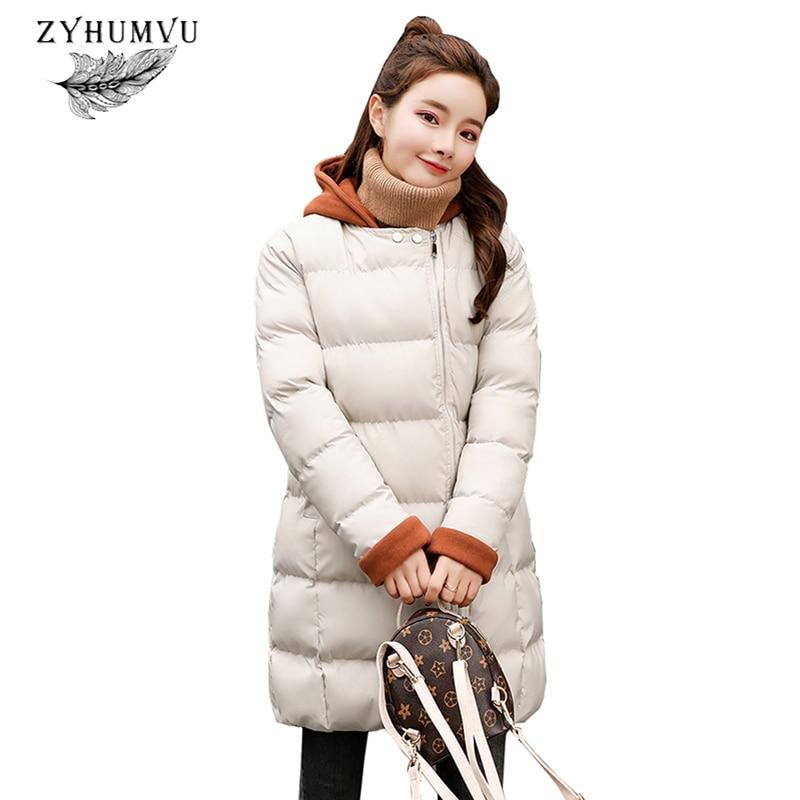 Coton Veste Mode Taille Zy692 Capuchon black À turmeric Survêtement Nouveau Épaissir pièce Long Hiver Manteau Faux Grande Beige Deux De Mince Chaud Femmes Parka Femelle xqntUwOZY1