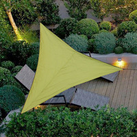 6M*6M Sun Awning Shade Sails Canopy Triangle Sun Shelter For Pool Beach Tent Outdoor Camping Picnic Home Garden Deck Backyard