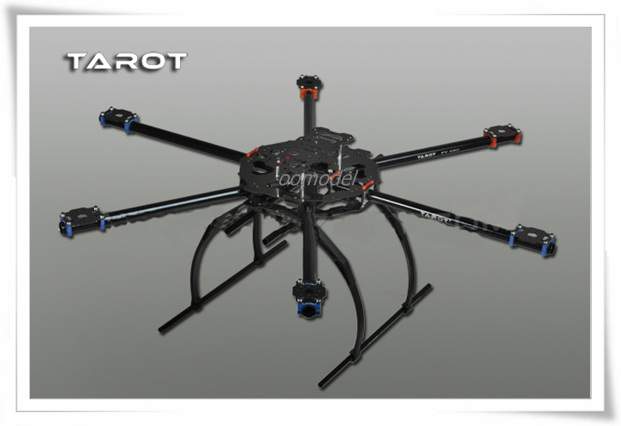 Tarot FY680 6-axis Aircraft TL68B02 Folding Aluminum Tubes-US Shipping tarot 680pro folding carbon fiber 6 axis quad fy680 tl68p00 freetrack shipping