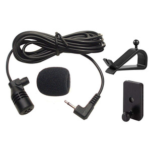 Image 2 - 1pcs newest 2.5mm connector Bluetooth External Microphone Car For Pioneer Stereos Radio Receiver 3M Length Cheap hot sale