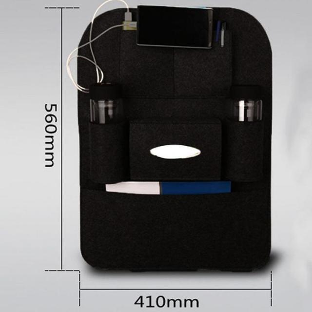 Portable Vertical Hanging Car Seat Organizer
