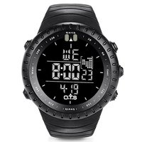 OTS Digital Watch Men Sports Watches 50M Waterproof Swimming Large Dial Hours Clock Military Wristwatches Man