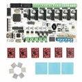 Geeetech горячие продажи 3d управления принтером доска комплекты Румба + 6 Х A4988 шагового драйвера + 3 XHeatsink + стикер бесплатная доставка