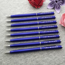 Best souvenir gift for Graduation season personalized free with your name and school classical writing pens 20pcs/lot
