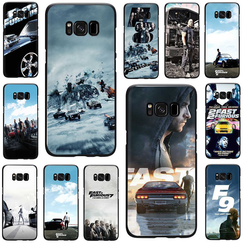 Fast & Furious en Paul Walker Soft Phone Cover Case voor Samsung Galaxy M10 20 30 S6 S7 Rand S8 s9 S10 Plus Note 8 9 10