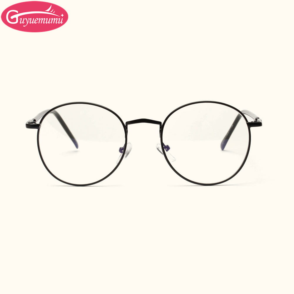 2017 small size vintage eyeglasses round women glasses frame clear lens mens eyeglass frames gold frame