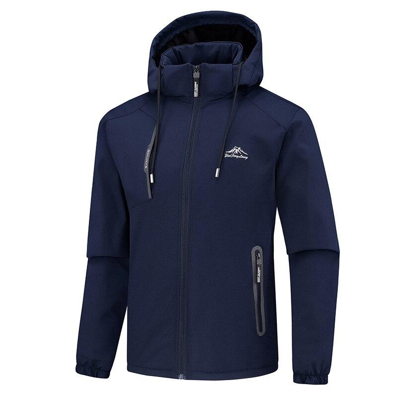 Veste Ski snowboard thermique veste Polyester Ski veste à capuche manteau imperméable chaud veste de Ski pour hommes activités de plein air