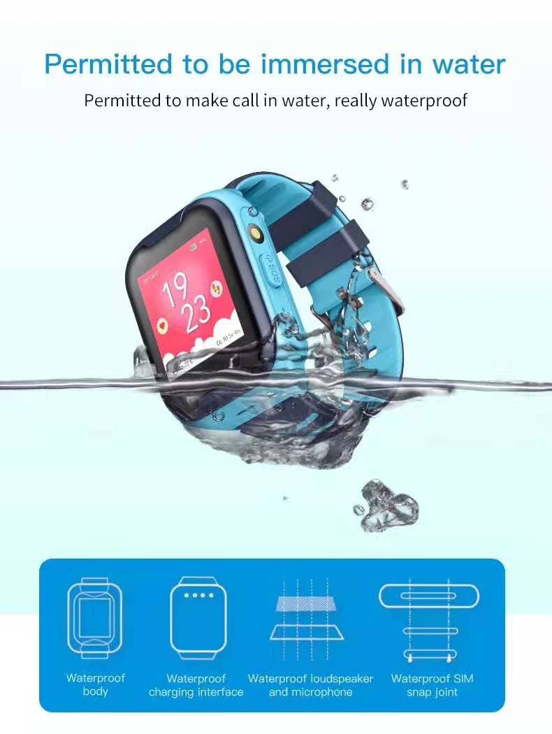 LEMFO G4H 4G Kids Smart Watch With GPS Wifi Ip67 Waterproofness 1.4 Inch Display And Camera 3