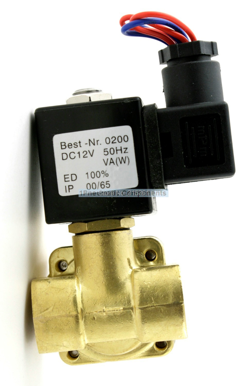 High Quality 1 4 16bar Pressure Electric Solenoid Valve