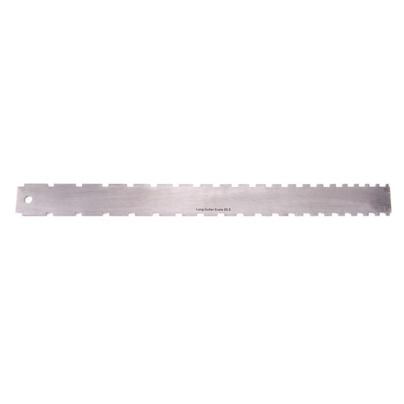 Musical Instruments Stainless Steel Guitar Neck Notched Straight Edge Luthiers Tool Guitar Fingerboard Ruler Guitar Luthier Tool 2017 New