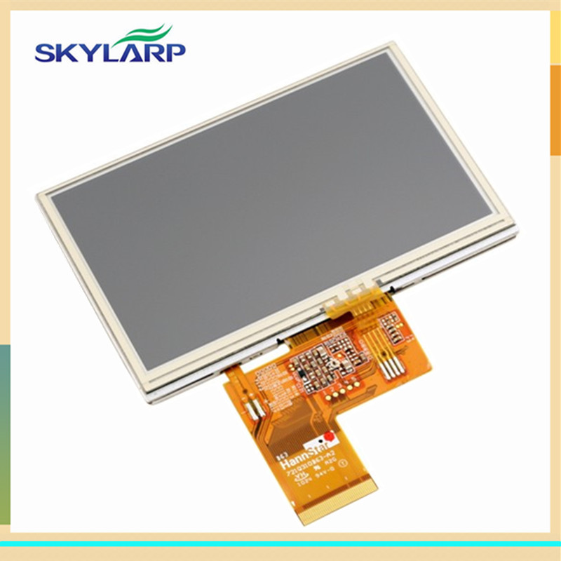 skylarpu 4.3inch LCD screen for Launch X431 Diagun III LCD display Screen with Touch screen digitizer Repair replacement