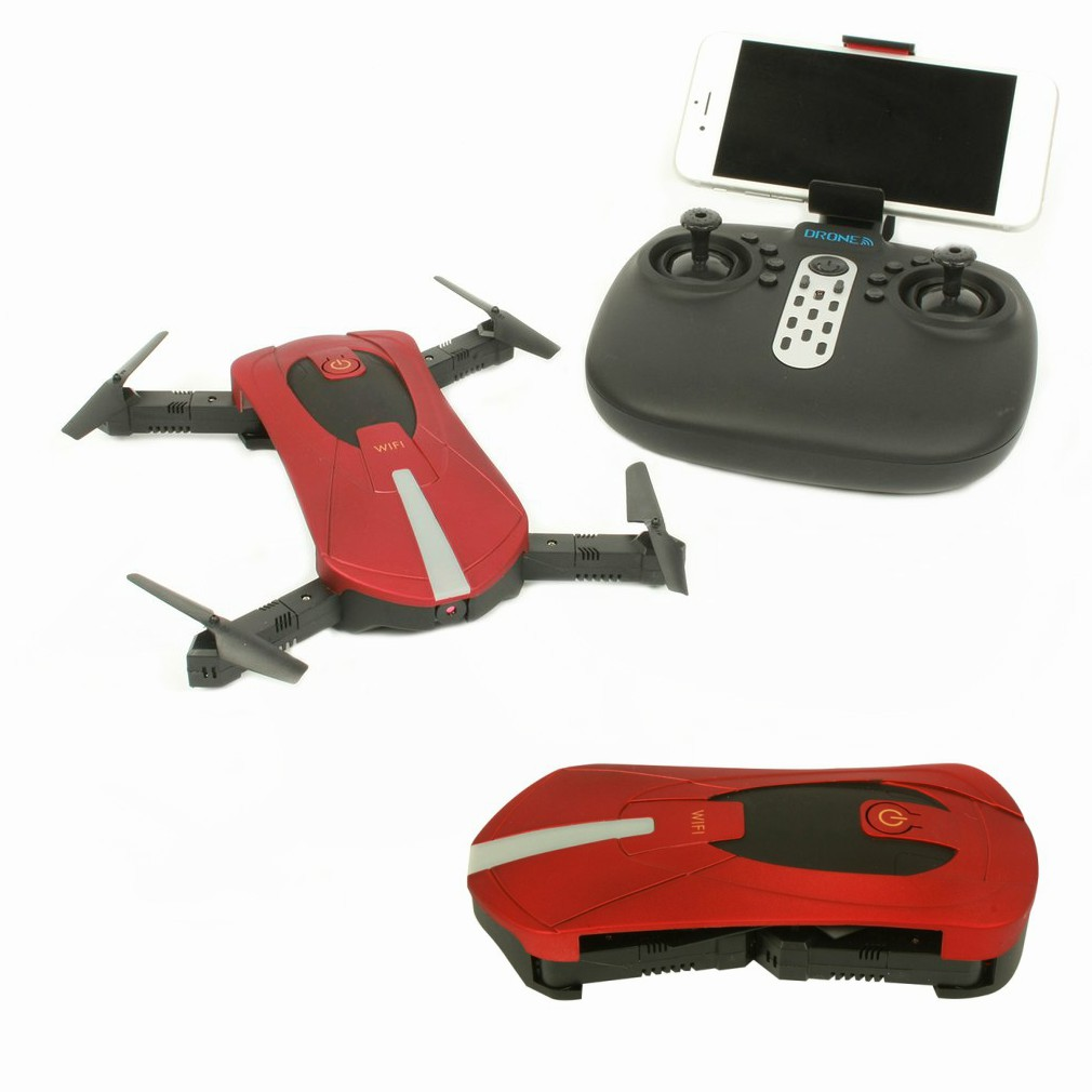 JD 18 2 4G Wifi FPV 30W Camera Foldable 6 Axis Gyro RC Drone Quadcopter With