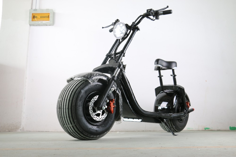 harley moto roller citycoco elektroroller 1000 watt von verl sslichen electric. Black Bedroom Furniture Sets. Home Design Ideas
