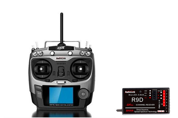 RC helicopter Remote Control Radiolink AT9 2.4GHz 9ch RC Transmitter DIY Quadcopter remote control Radio & Receiver