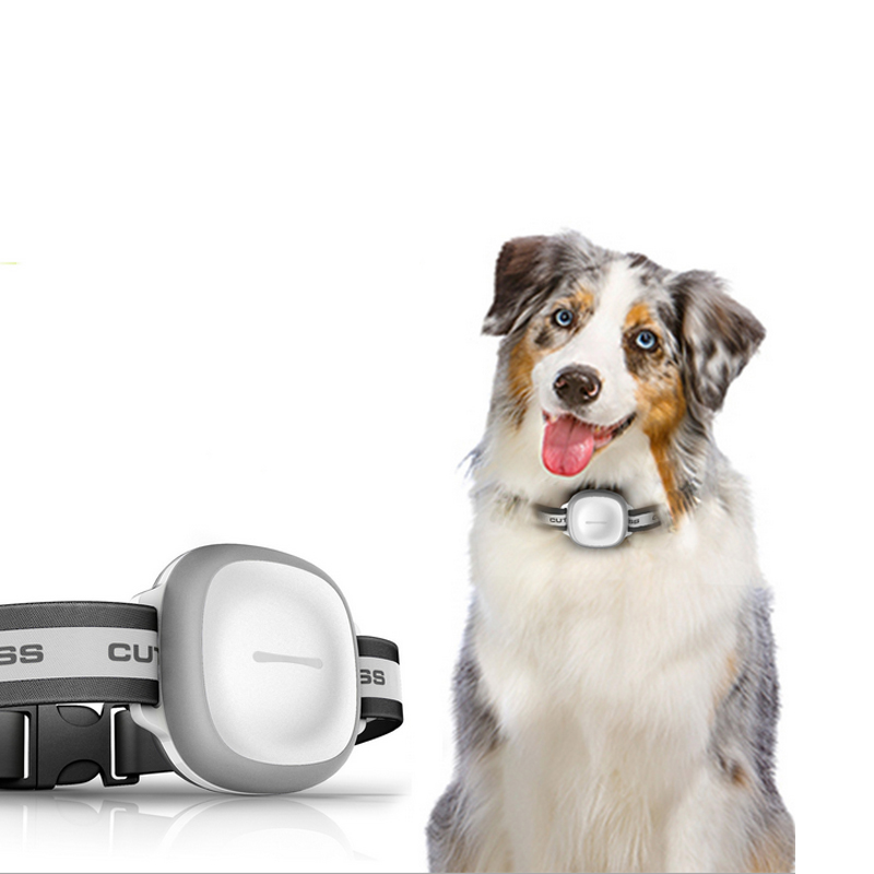 Mini GPS Tracker With Collar Waterproof Real Time Locator Chip For Pets Dogs Cats LCC77 mini portable gps locator real time tracker sos communicator with lanyard for car person