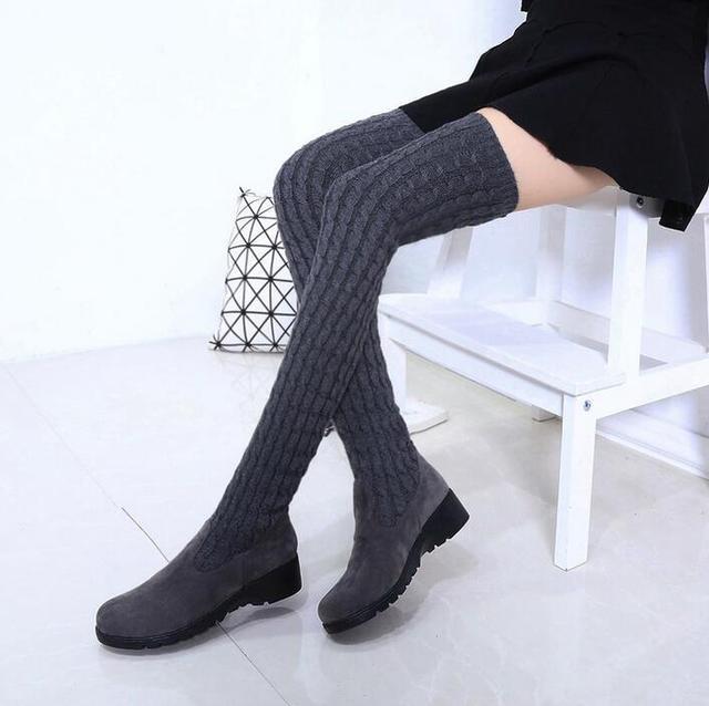 7a407ab51a4448 Soleggiato Everest scarpe donna lana stivali invernali snow boots avvio  manica della signora scarpe basse untiskid