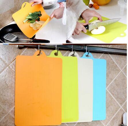 200 PCS 38x24cm Fruit Chopping Board Chopping Block Plastic Cutting Board Cutting Board Antibiotic Kitchen Utensils