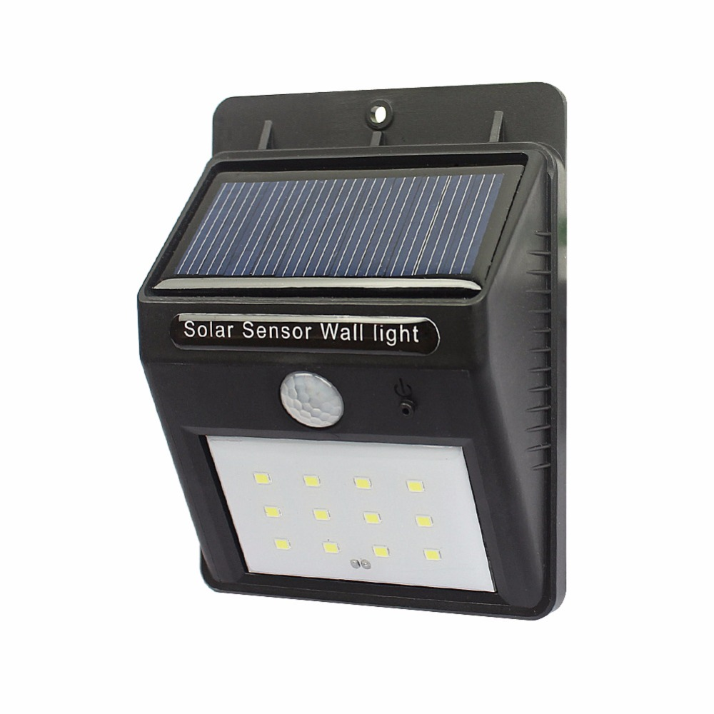 automatic led stair lighting. led solar powered sensor wall light waterproof stairs lamp outdoor garden fence black abs automatic led stair lighting