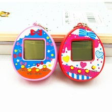 цены 2018 Tamagotchis Electronic Pets Toy Virtual Pet Retro Cyber Funny Multicolor Handheld Game Machine Toy For Children Tamagochi