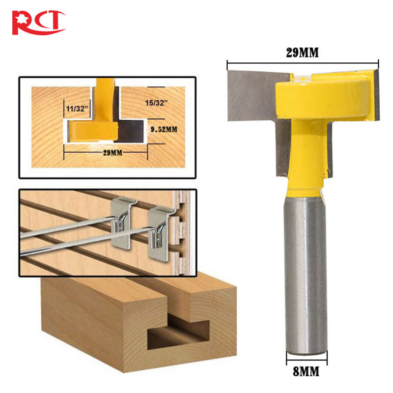 6 mm slot cutter router bit