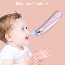 Детский Электрический носовой аспиратор, гигиенический очиститель носа, Детская очистка носа, присоска со сменной всасывающей насадкой для новорожденных