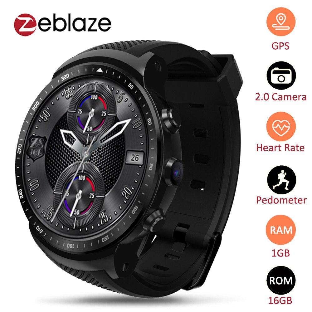 Zeblaze Thor PRO 3G GPS WIFI Smartwatch Android 5 1 MTK6580 Quad Core 1GB 16GB 2