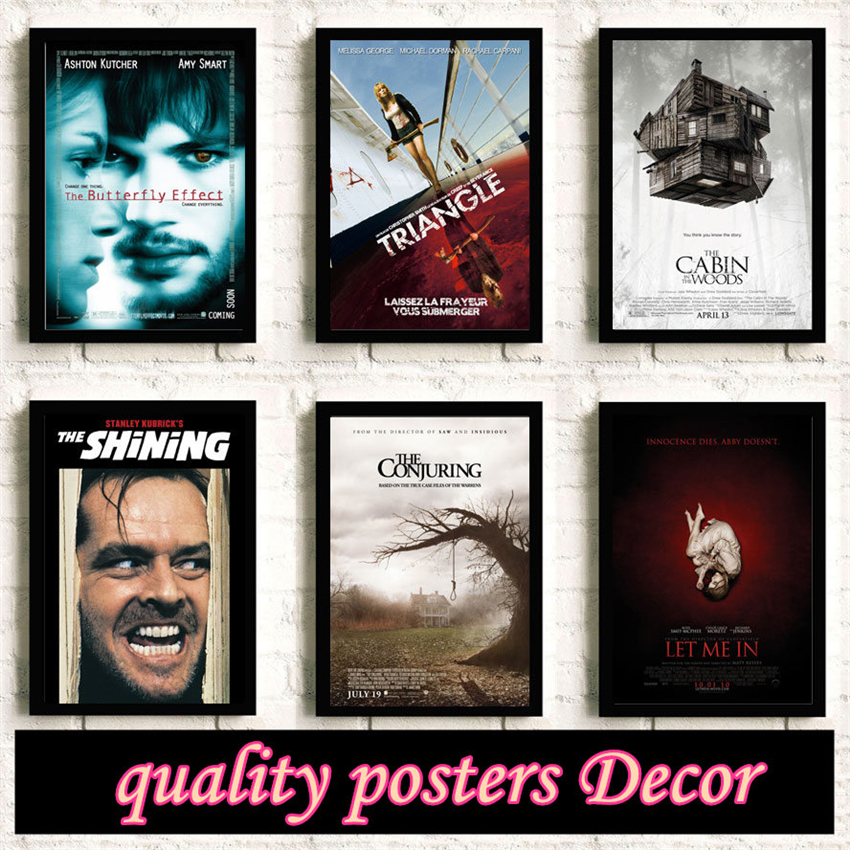 Horror Movie Painting Quality HD Reying Movie Home Decor