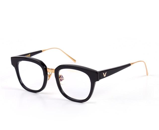 Korea V brand Women Eyeglasses Frames Vintage Optical Eye Glasses ...
