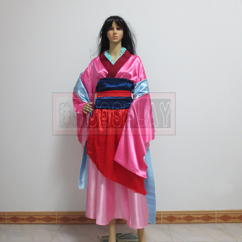 Hottest chinese anime Costumes Hua Mulan Dress Princess Mulan Cosplay Costume Halloween party mulan Costume for women