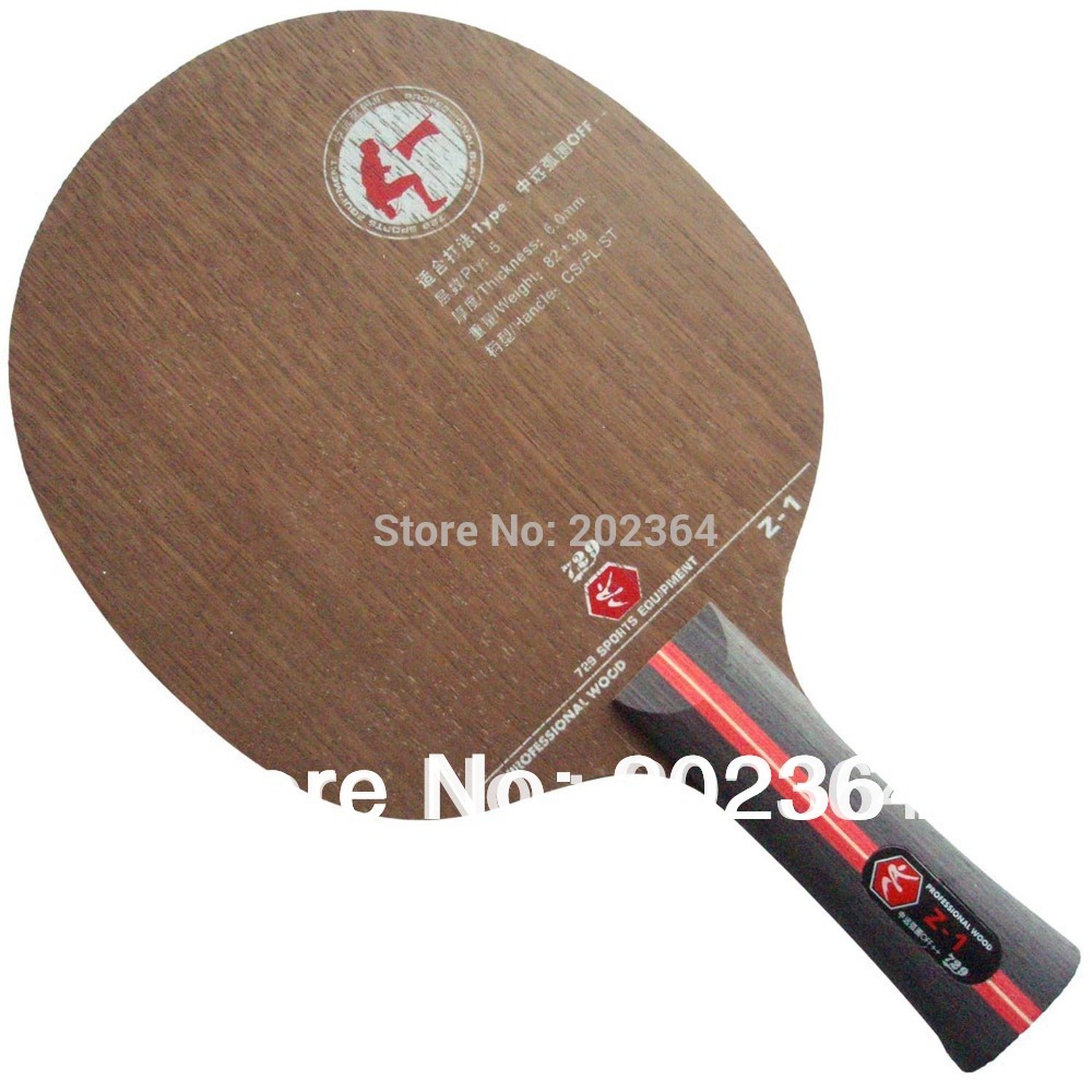 RITC 729 Friendship Z-1 Z1 Z 1 Professional Wood OFF++ Table Tennis Blade For PingPong Racket
