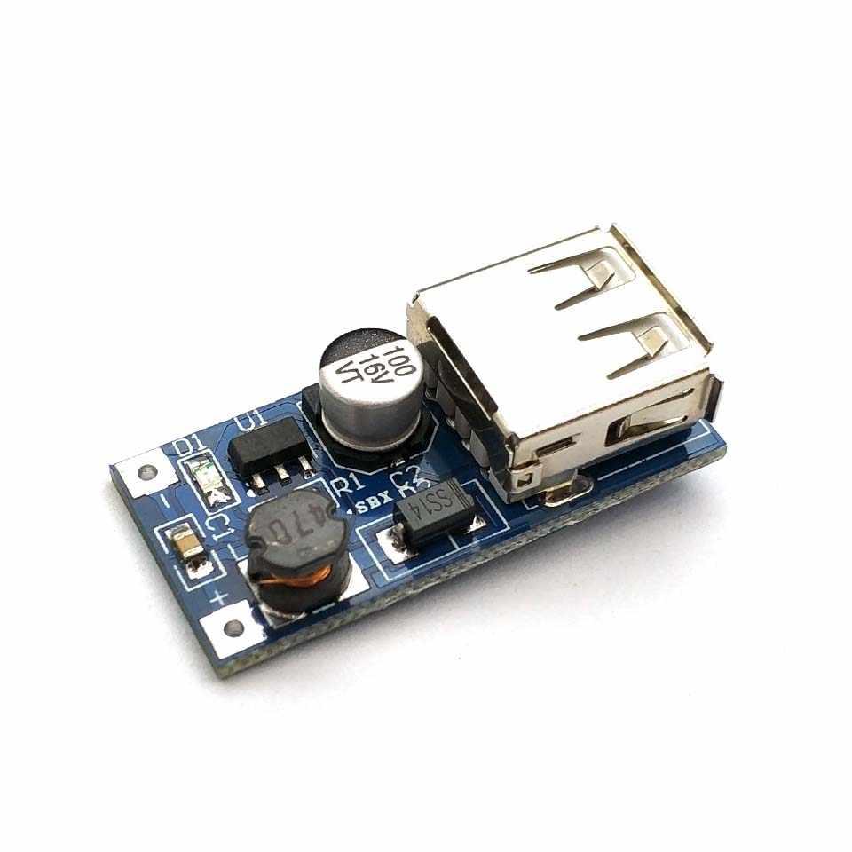 0.9 فولت-5 فولت إلى 5 فولت DC-DC USB محول جهد كهربي تصعيد الداعم وحدة امدادات الطاقة