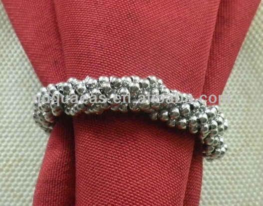 Aliexpress acrilico napking ring con il polisacco