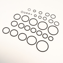 419 Pcs 32 Sizes Rubber O-Ring Sealing Gasket Washer Seal Assortment Set for Plumbing Automotive General Repair with Case 200pcs set 15 sizes rubber grommet o ring washer sealing assortment for hydraulic machinery with box