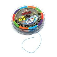 1 piece 8 strands braided fishing line high strength 100M colorful linha multifilamento Fishing Lines PE linha de pesca