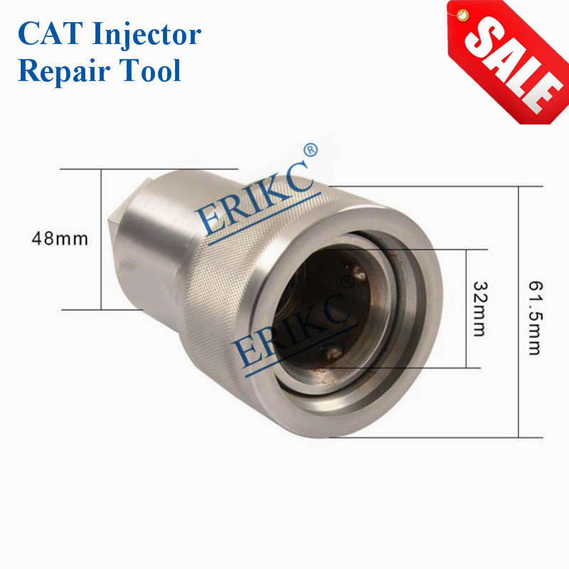 ERIKC C7 C9 C13 C15 C3126 Professional CAT Diesel CR 32mm Fuel Injector Disassembly Assembly Repair