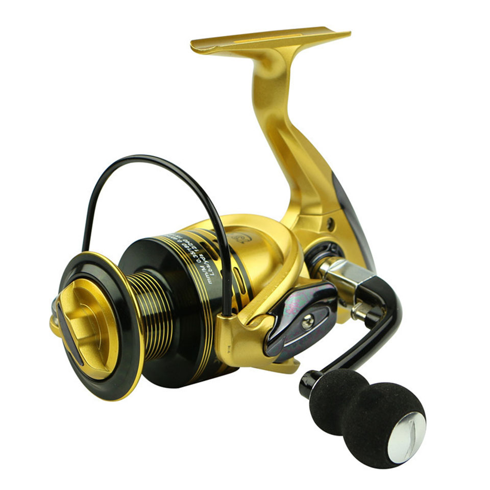 Brand Fishing Reels 13+1BB 5.5:1 Full Metal for fish feeder baitcasting reel spinning reels for rod