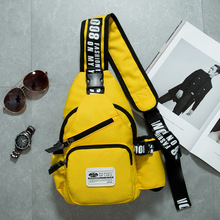 Graffiti Printed Sling Backpack