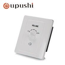Регулятор громкости динамика 100 в настенный поворотный регулятор громкости для системы Oupushi pa