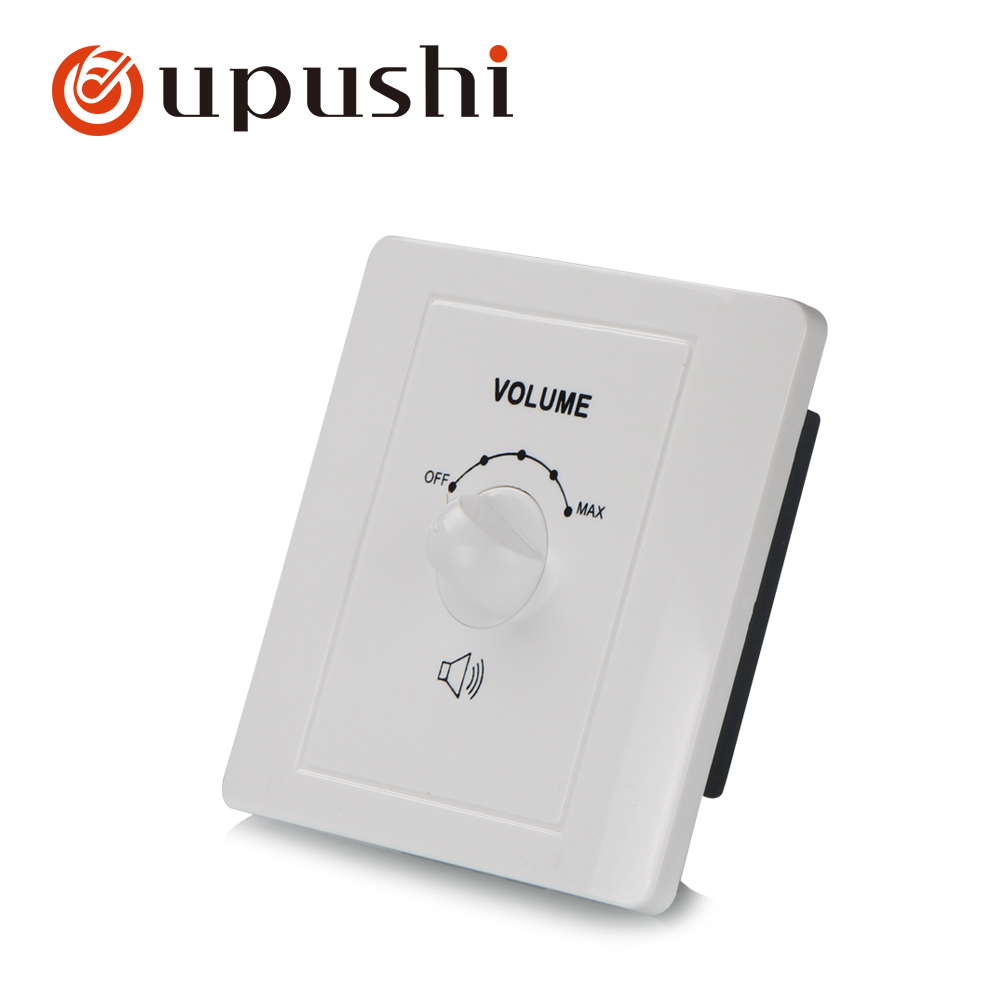 Speaker volume controller 100V wall mount rotary volume control knob for Oupushi pa system