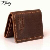 Vintage Pure Handmade Wallets Men S Genuine Cowhide Leather Wallets Leather Short Clutch Bag Korean Men