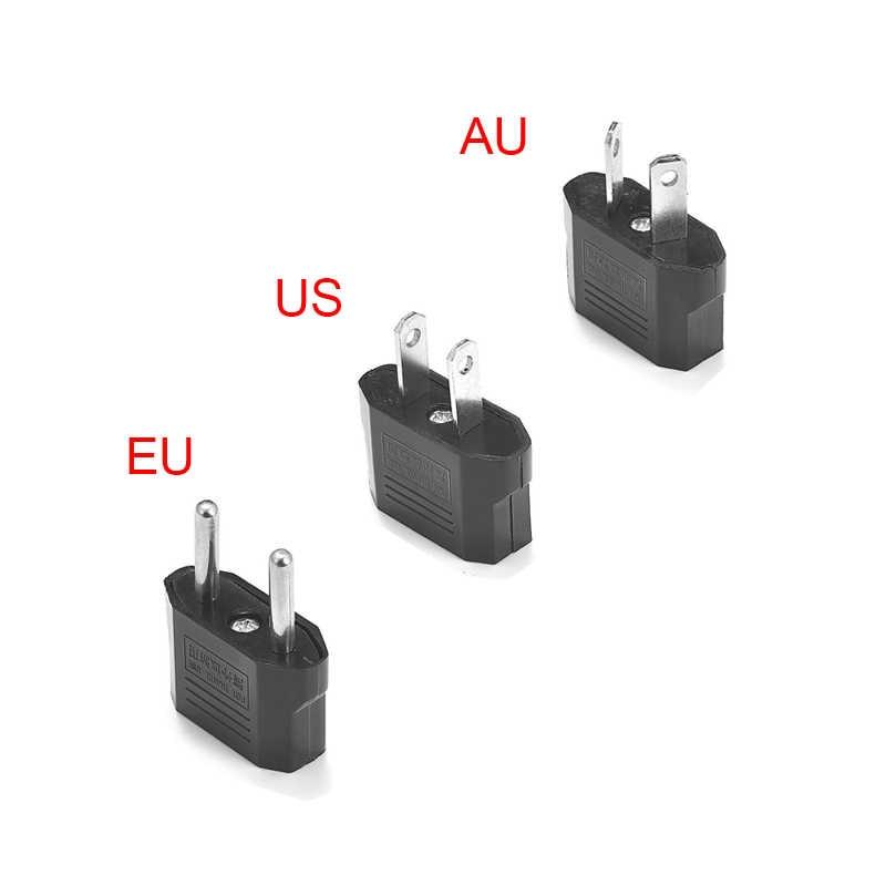 , Usa, AU ue wtyczki zasilacza chiny japonia amerykański usa do ue Euro podróży europejskiej w zasilacz australijski elektryczny konwerter wtyczki gniazdo