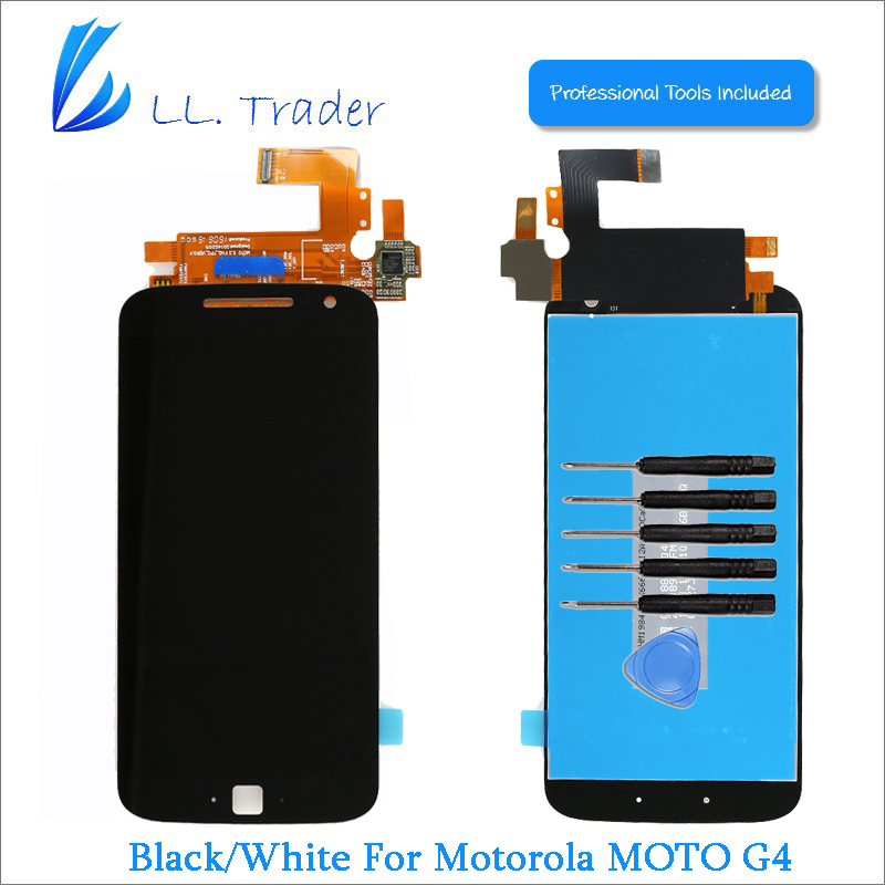 Подробнее о LL TRADER 100% Tested Full Replacement LCD For Motorola MOTO G4 LCD Display Touch Screen Digitizer Assembly Free Shipping+Tools ll trader highscreen 100% tested lcd screen for sony xperia z2 lcd display d6503 touch digitizer assembly full replacement parts