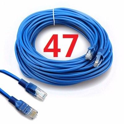 47 # MLLSE CAT5 câble Ethernet plat réseau Ethernet cordon de raccordement câble LAN
