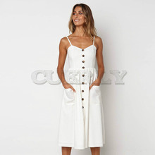 Summer Floral Bohemian Beach Dress Women 2019 Vintage Single-Breasted Bandage Party Dress Sexy White Black Red Striped Plus Size